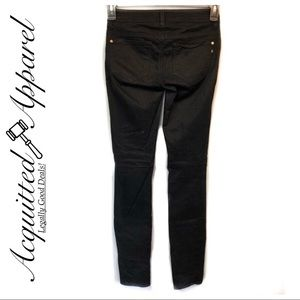 Genetic Denim Black Wash Skinny Jeans Stretchy